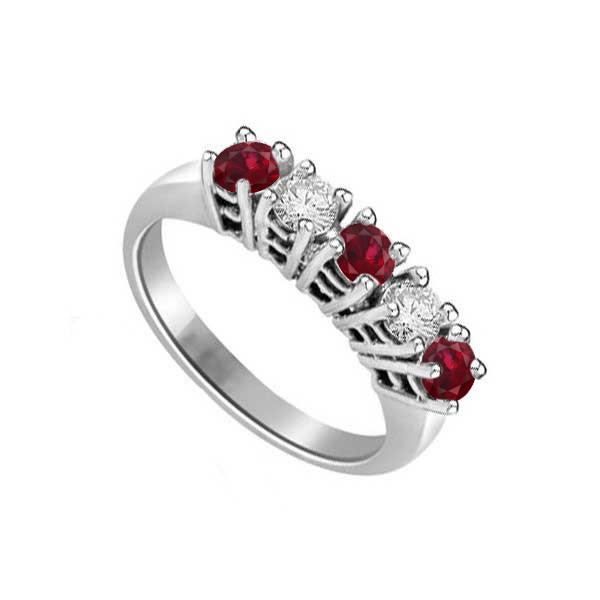 comprare on line 794a4 bda05 Veretta con diamanti e rubini | Infinity of London Jewellery