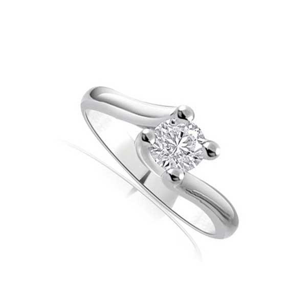 gamme complète d'articles site réputé lacer dans Solitario Anello con diamante grande R300 | Infinity of ...