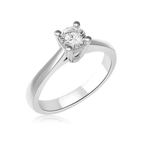 miglior sito web 10e84 ce962 Anello di fidanzamento Solitario con diamante | Infinity of ...